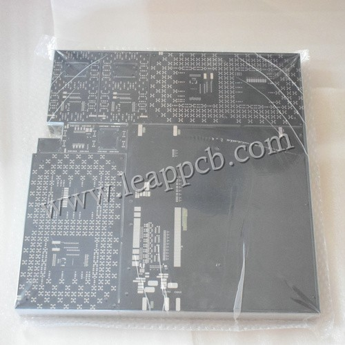 matt black 2 layer pcb